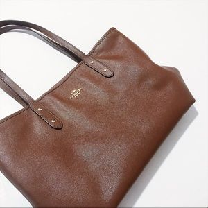 Coach - Saffiano Leather Tote